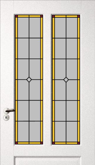 Set deurpanelen smal